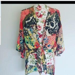 NWT Seven Forty Two Wrap/Kimono